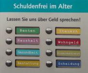 Broschüre Schuldenfrei im Alter der Diakonie Köln