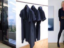 Meike Winnemuth blaues Kleid