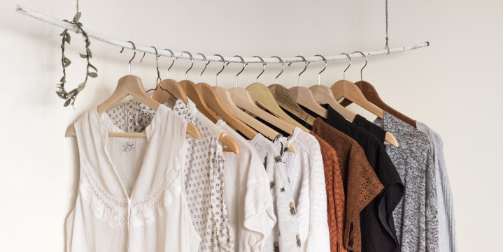 Kleid oder nicht Kleid. Das ist eine Frage von Konsumverzicht.