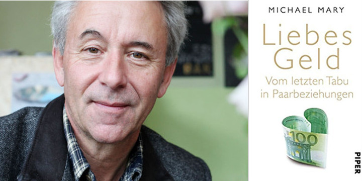 Paartherapeut Michael Mary mit seinem neusten Buch