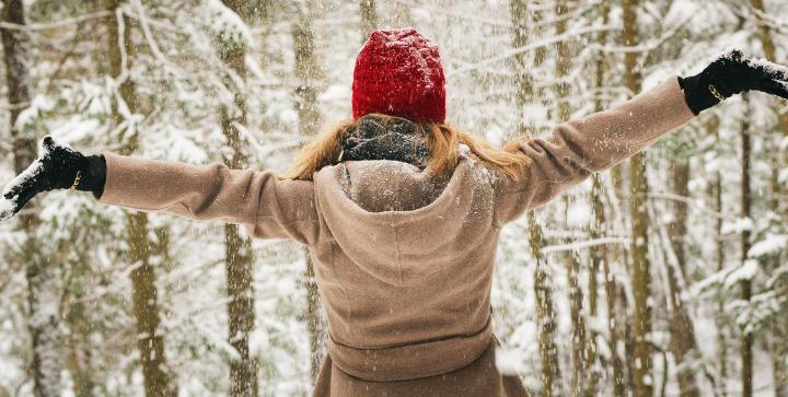 Frohe Weihnachten - mit ganz viel Schnee