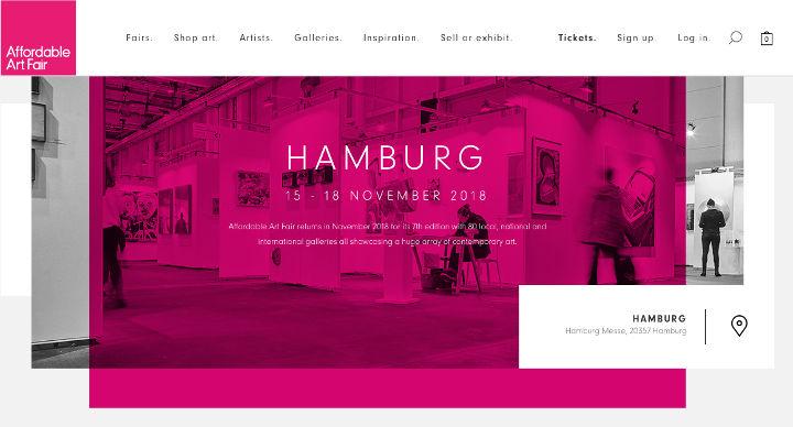 Kunst kaufen, z.B. auf der Affordable Art in Hamburg