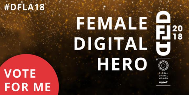 Der Digital Femal Leader 2018 - stimmen Sie für die Geldfrau