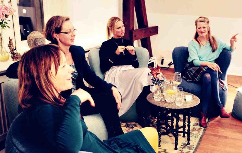 Der erste Hamburger Frauensalon von den Pioneers of Heart: mit Maren Hoff, Dani Parthum, Kati Schwendtke, Petra Kolitsch