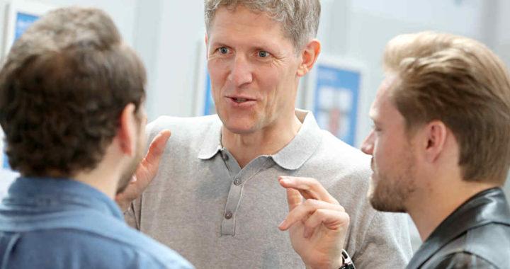 Tradermacher Lars gibt Wissen weiter