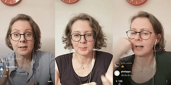 Inflation, Versicherungen, Zinsen: Geldfrau live auf Instagram, Woche 2