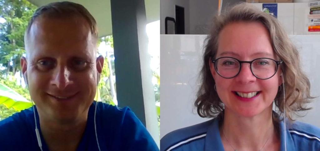 Im Interview bei Christoph Kanzler und Alex Fischer